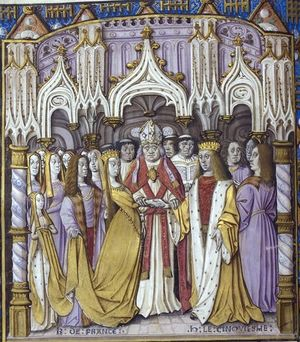 Jean Chartier, Chronique de Charles VII, France (Calais), 1490, and England, before 1494, Royal 20 E. vi, f. 9v,.jpg