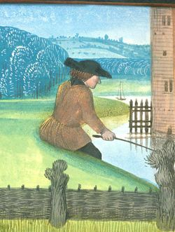 Royal 14 E VI f. 270v 1 Fishing and fowling.jpg